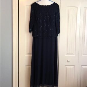 Beautiful Navy Blue Formal Dress